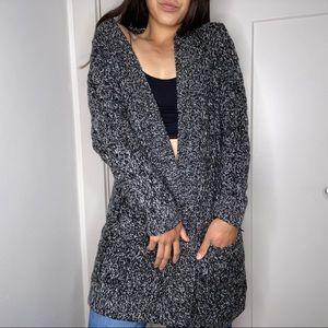 Gap open knit sweater cardigan